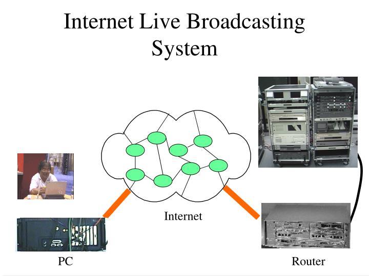 Internet Live Broadcasting