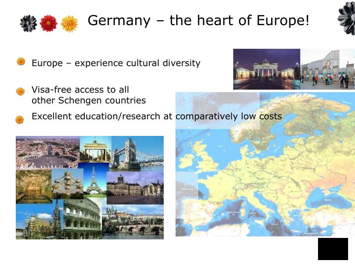 Germany the heart of europe