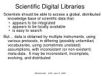 scientific digital libraries