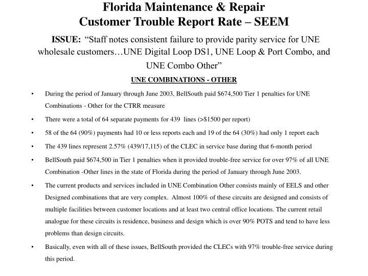 Florida Maintenance & Repair