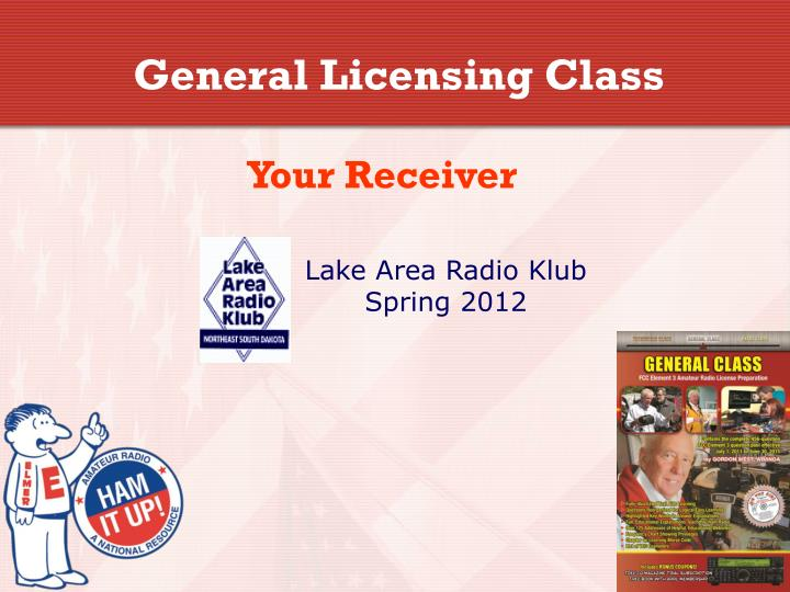 Amateur Radio General Class License Class Syllabus