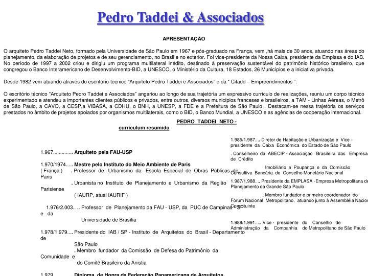 Pedro Taddei & Associados