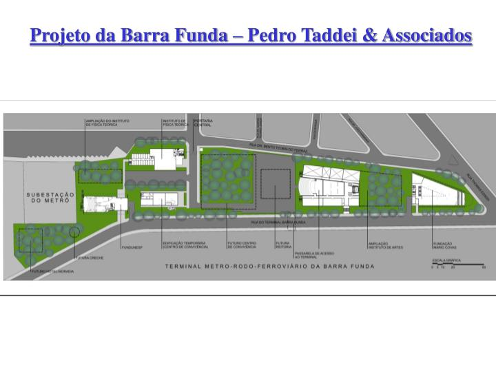 Projeto da Barra Funda – Pedro Taddei & Associados