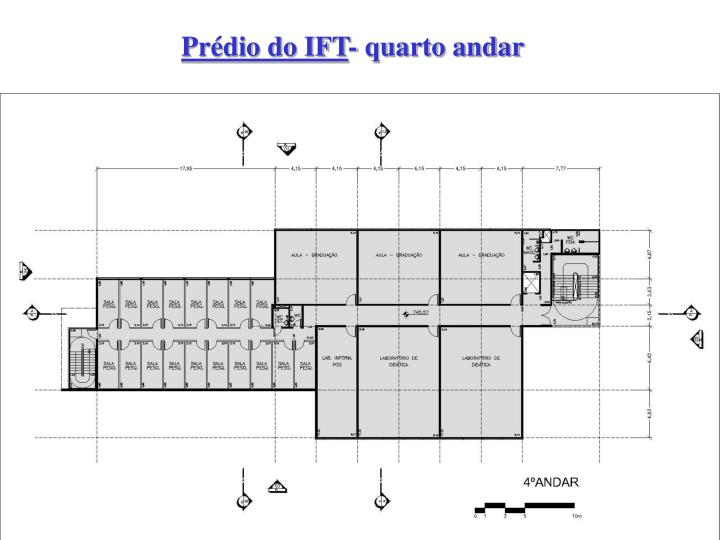 Prédio do IFT