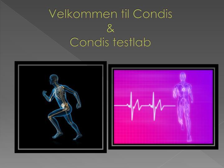 Velkommen til Condis