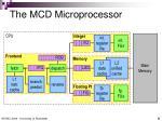 the mcd microprocessor
