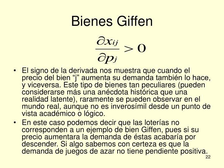 Bienes Giffen