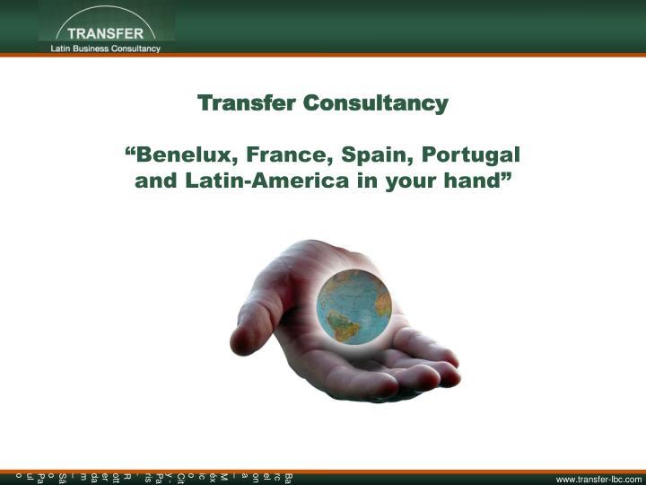 Transfer Consultancy