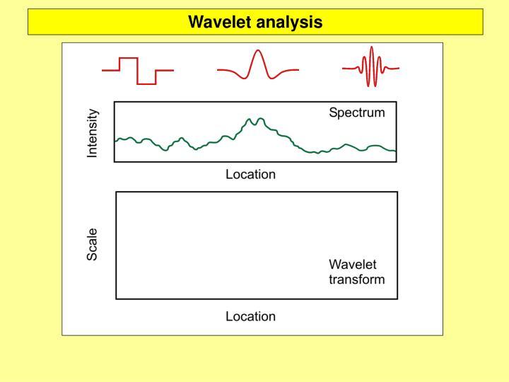 Wavelet analysis