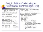 ex4 1 arbiter code using a function for control logic 1 3