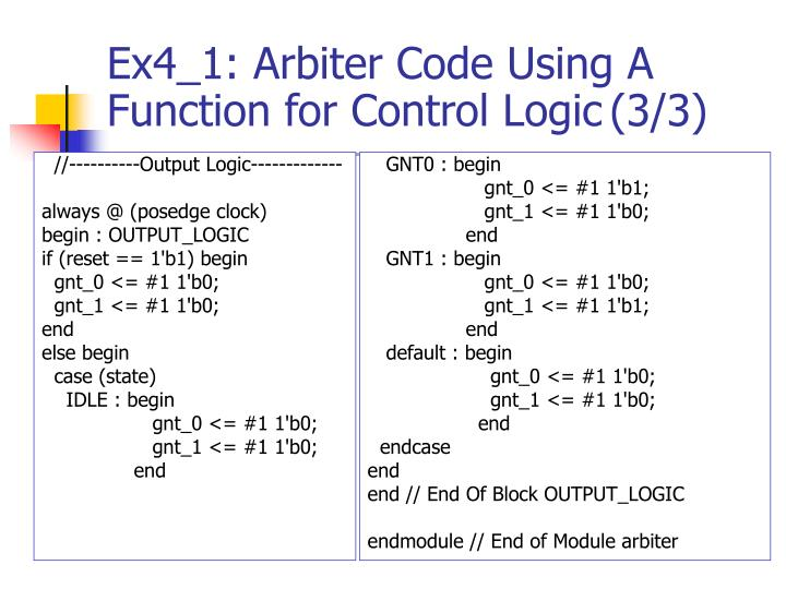 //----------Output Logic-------------