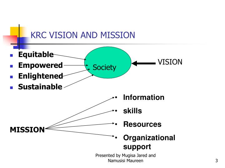 Krc vision and mission
