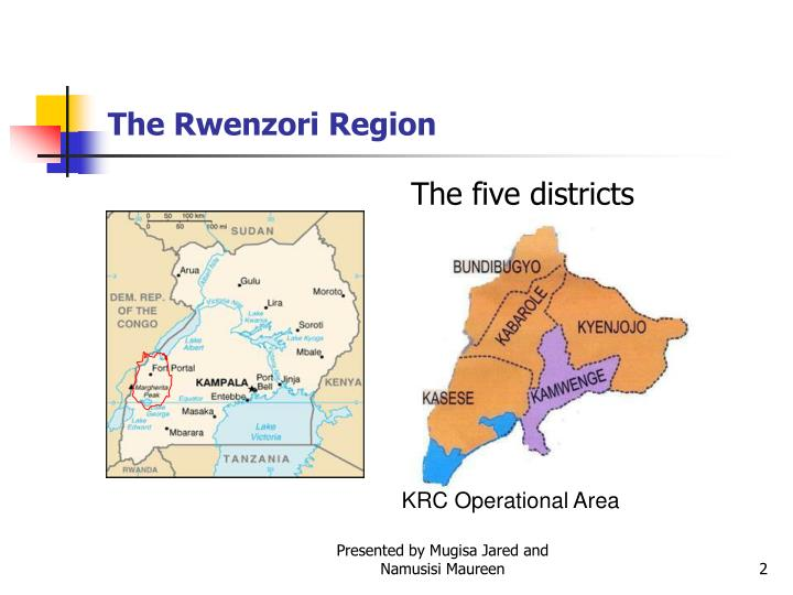 The five districts