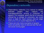 dependency networks