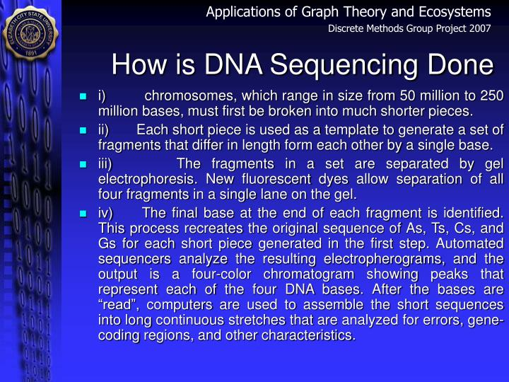 How is DNA Sequencing Done