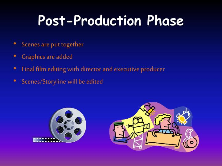 Post-Production Phase