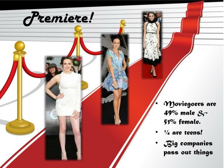 Premiere!