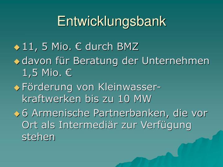 Entwicklungsbank