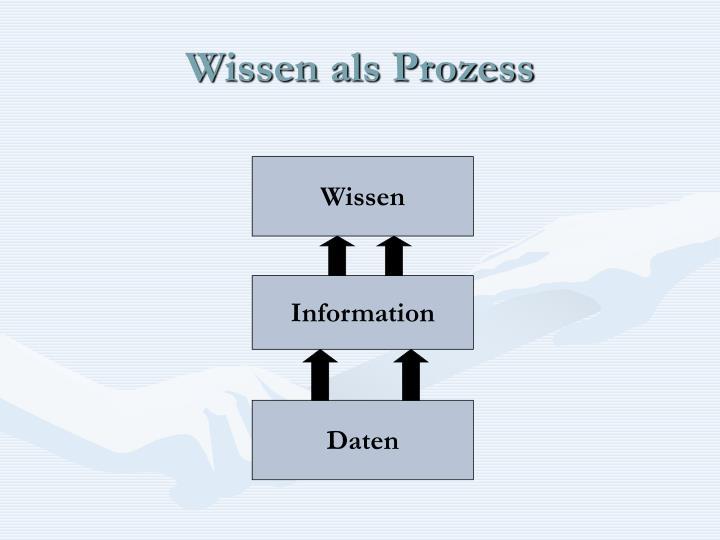 Wissen als Prozess