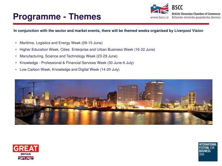 Programme - Themes
