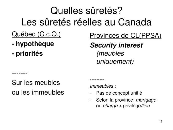 Québec (C.c.Q.)