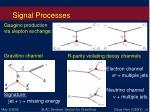 signal processes