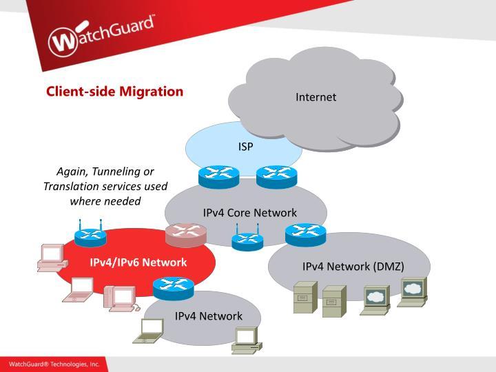 Client-side Migration