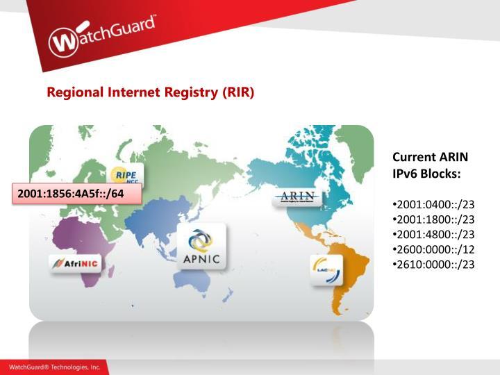 Regional Internet Registry (RIR)