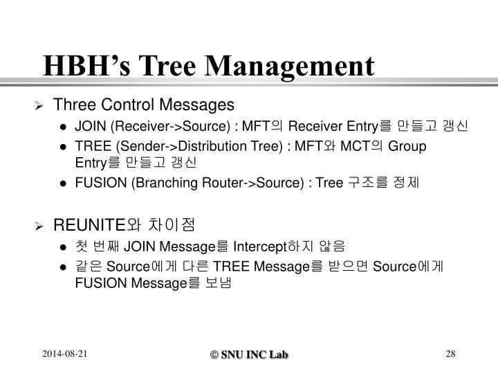 HBH's Tree Management
