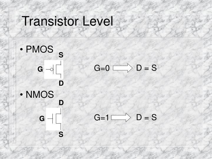 Transistor Level