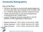 community demographics city of fall river