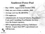 southwest power pool spp