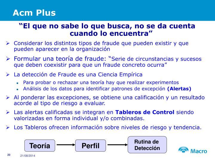 Acm Plus