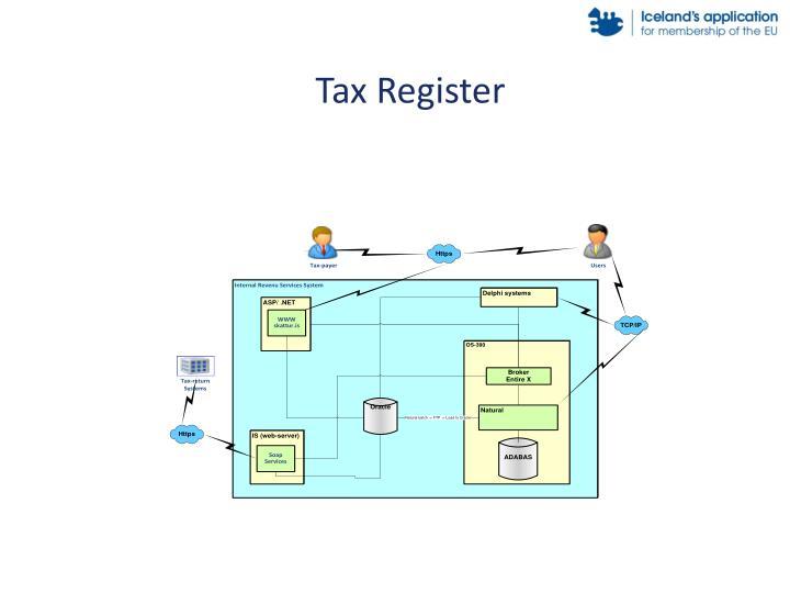 Tax Register