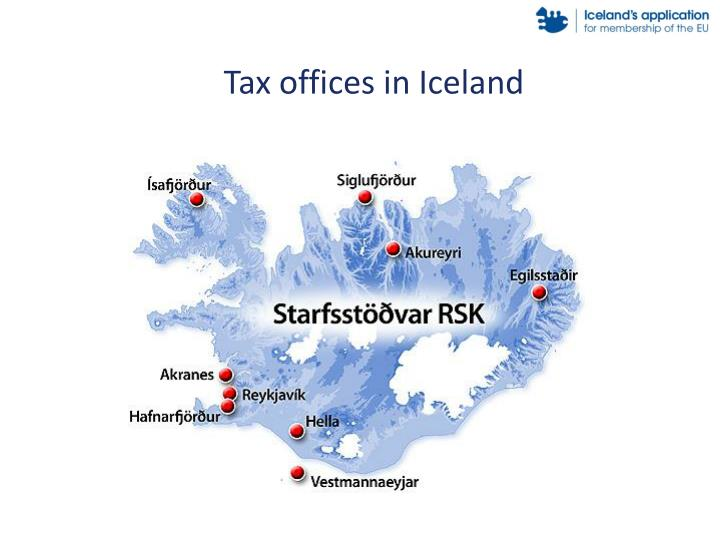 Tax offices in Iceland