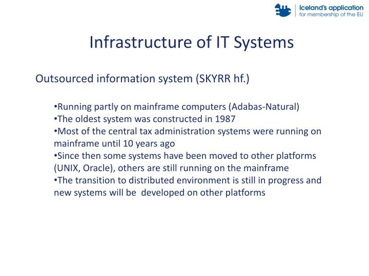 Infrastructure of IT Systems