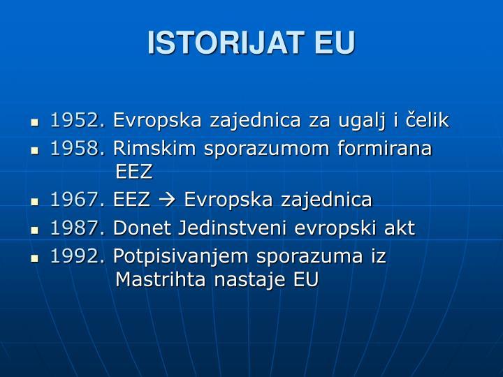 ISTORIJAT EU