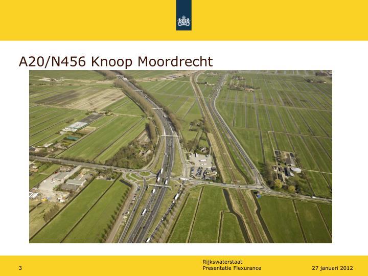 A20/N456 Knoop Moordrecht