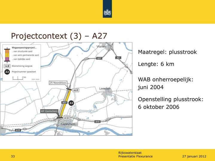 Projectcontext (3) – A27