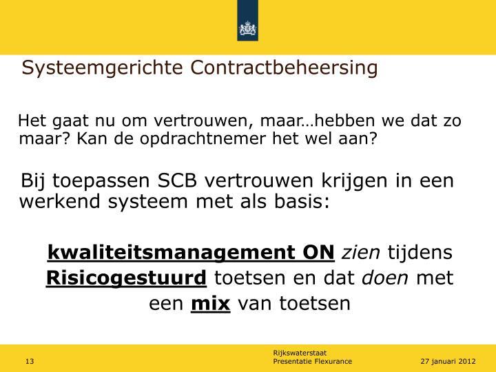 Systeemgerichte Contractbeheersing