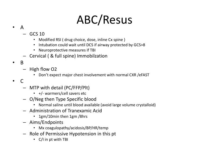ABC/Resus