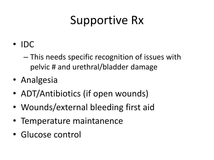 Supportive Rx