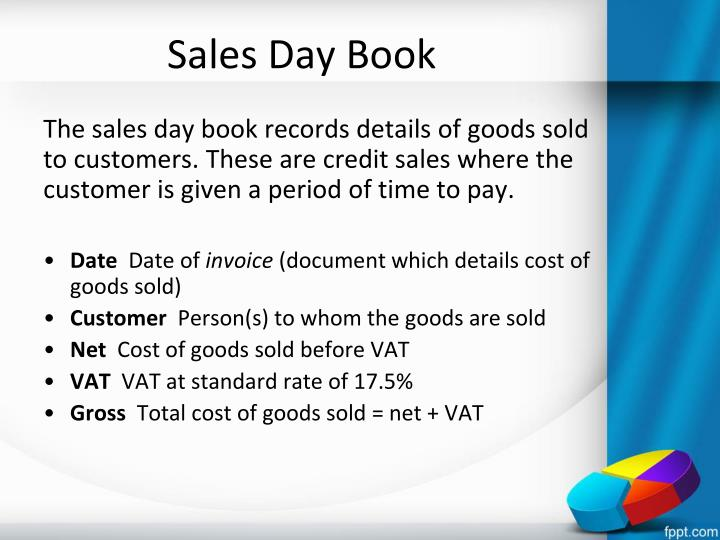 Sales Day Book