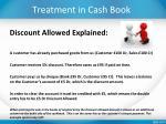 treatment in cash book2