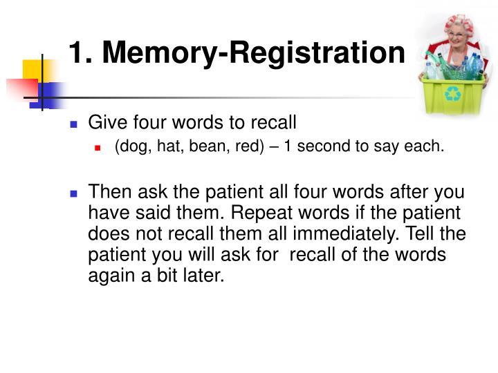 1. Memory-Registration