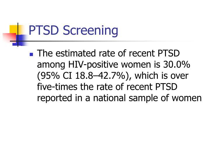 PTSD Screening