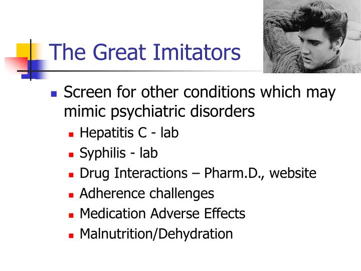 The Great Imitators