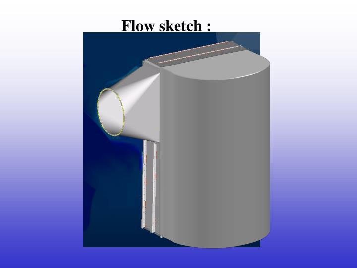 Flow sketch :