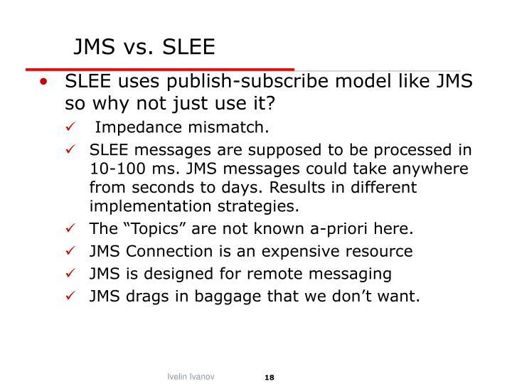 JMS vs. SLEE
