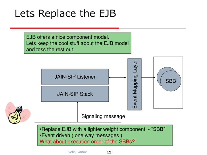 Lets Replace the EJB